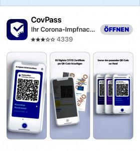 Endlich Impfung 2 intus - CovPass-App im App-Store