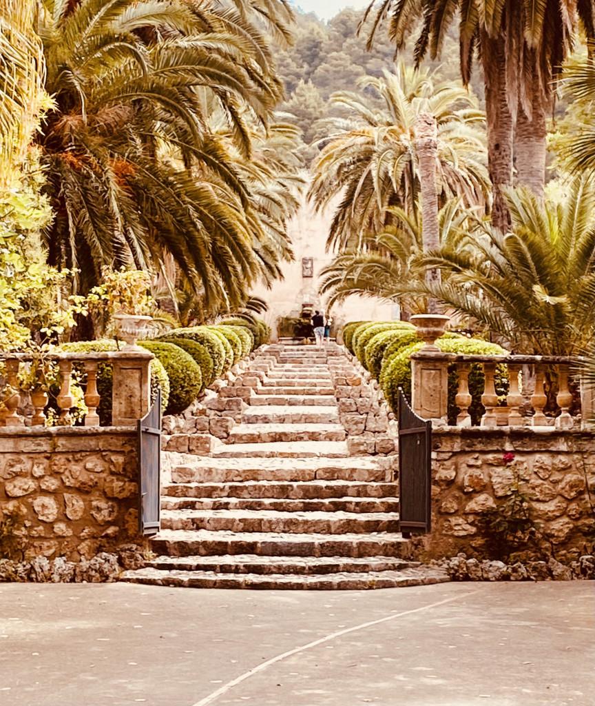 Jardines de Alfabia Mallorca - Super in der Sommerhitze 1