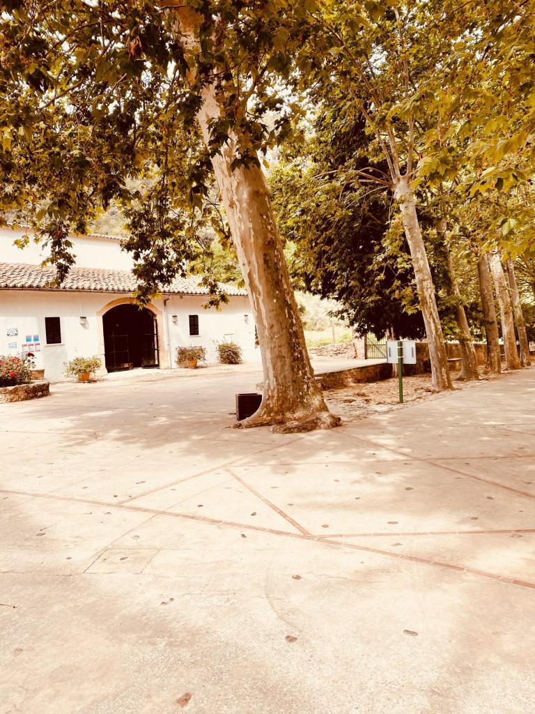 Jardines de Alfabia - das Kassenhaus
