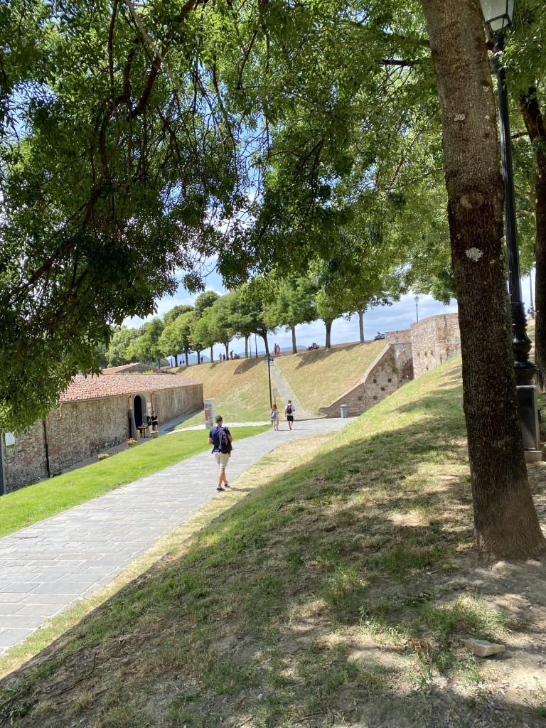 5 bezaubernde Städte in der Toscana - der Schutzwall von Lucca