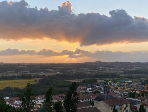 5 bezaubernde Städte in der Toscana - Sonnenuntergang in Peccioli