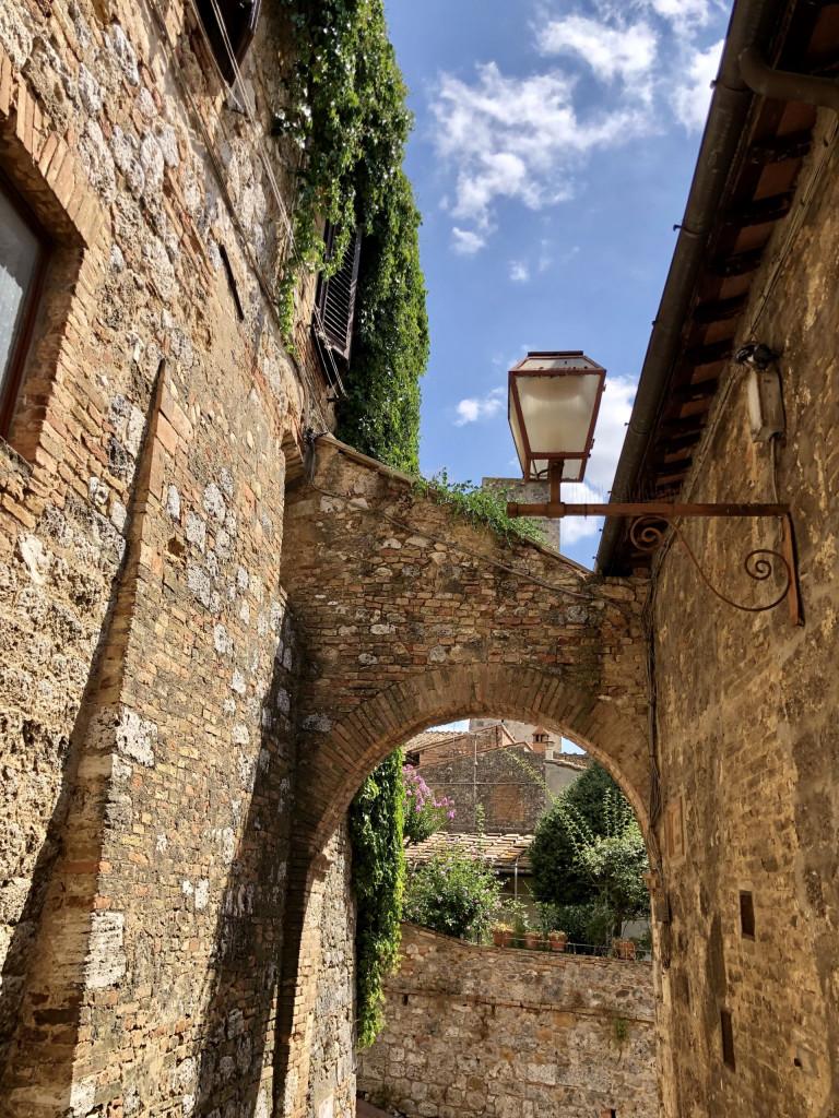 San Gimignano - Aus-und Durchblicke