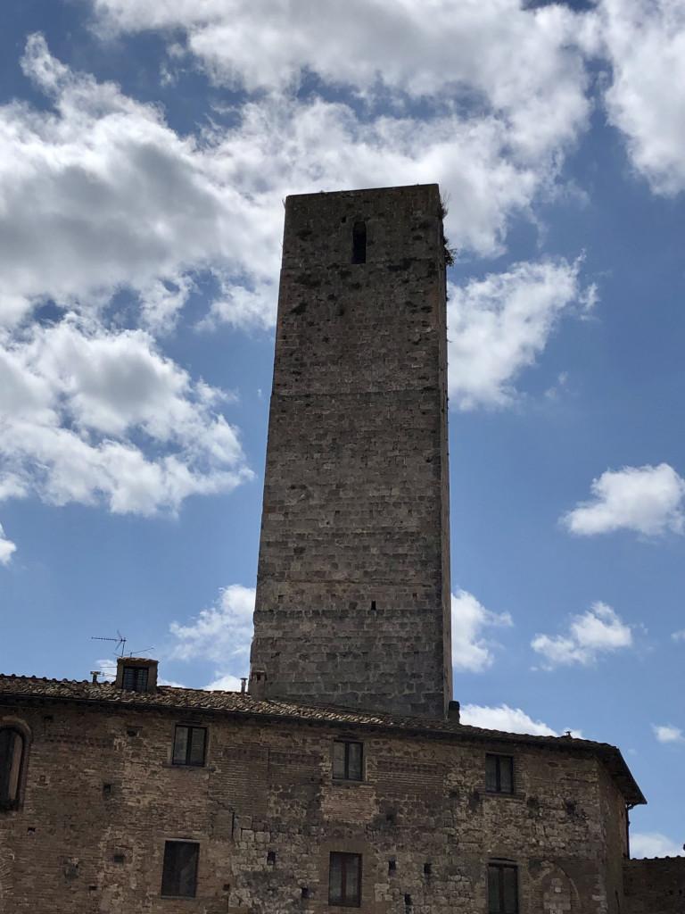 Türme von San Gimignano - teilweise fast unheimlich
