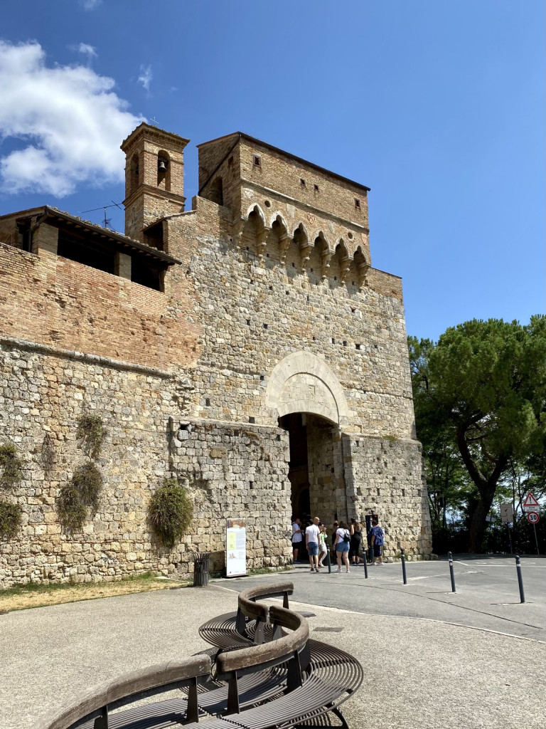 Toscana - Porta San Giovanni in San Gimignano