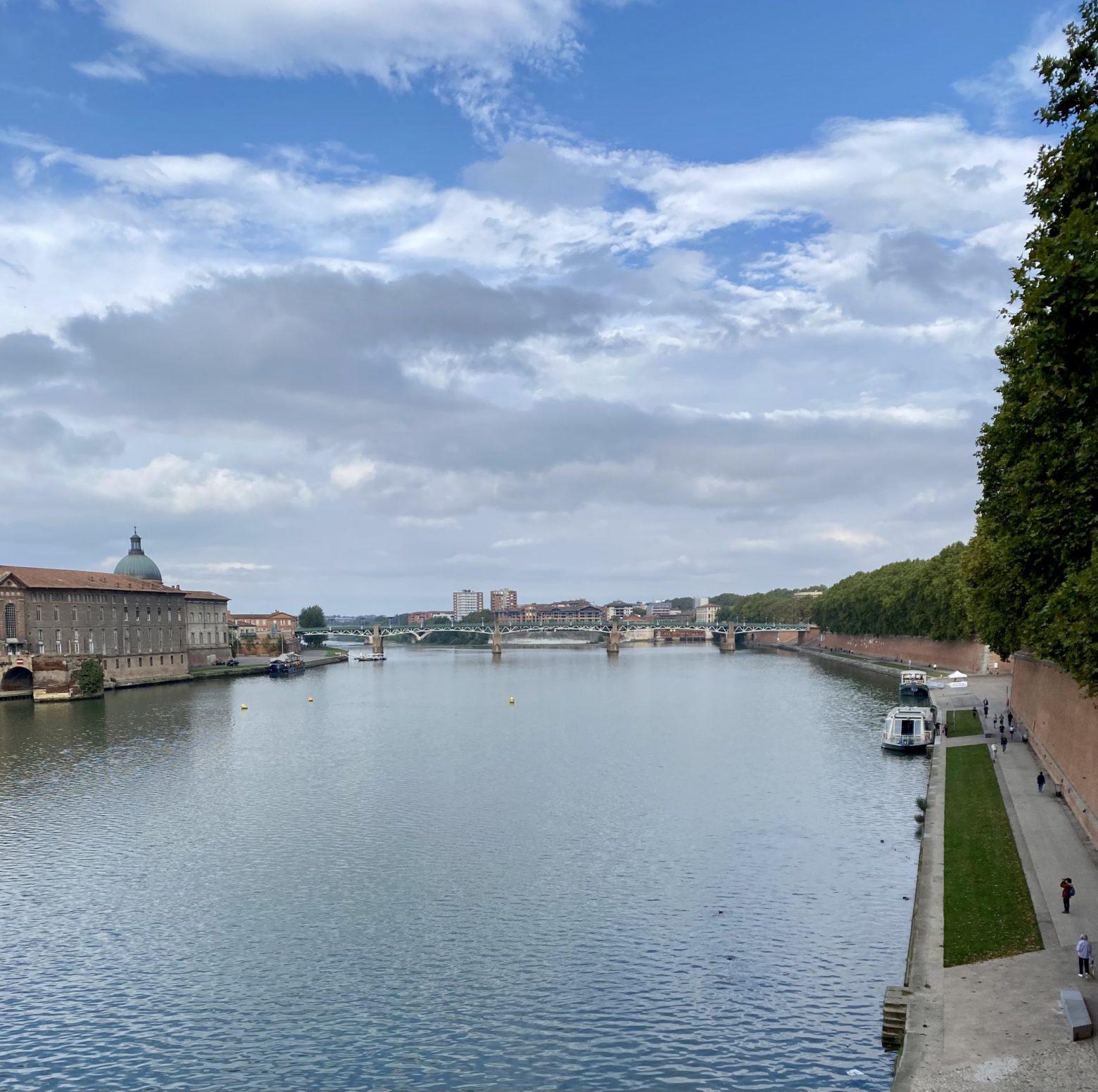 Kurztrip Toulouse Brücke Garonne